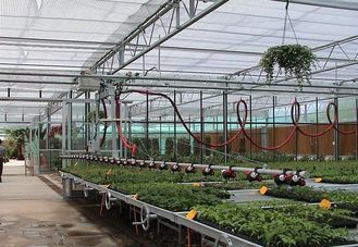China Customized Greenhouse Drip Irrigation System Manually Or Automatically Operated supplier